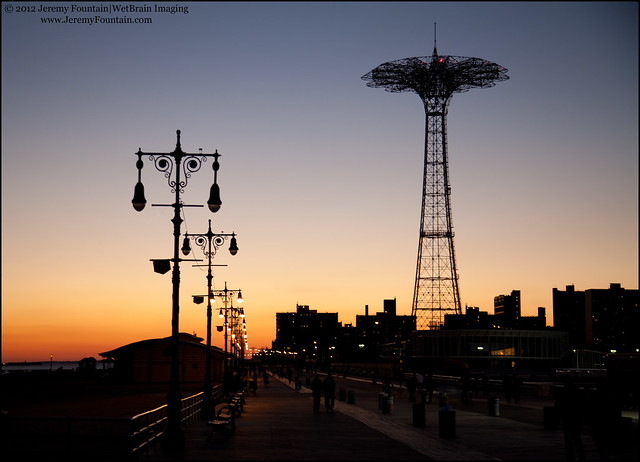 Sunset @ Coney Island