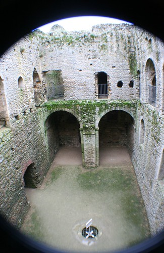 Inside Castle Rising, England