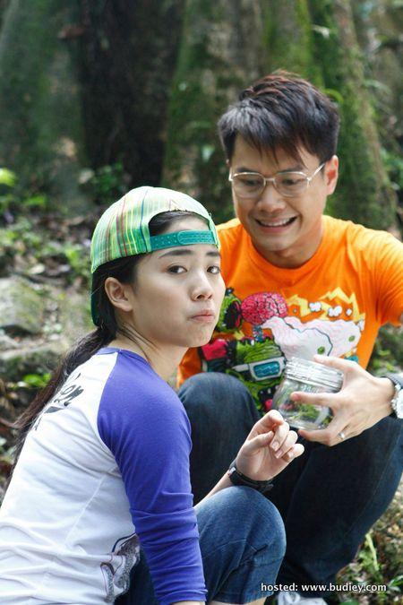 L-R Emily Chan & Leslie Chai