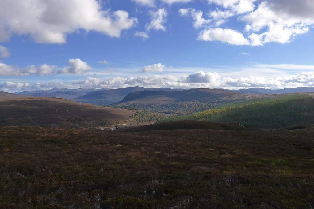Lochnagar and Glen Quoich