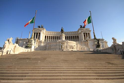 Victor Emmanuel Monument, Rome