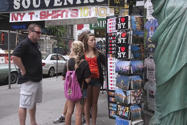 T shirts, NYC