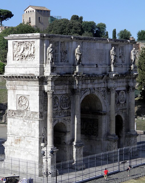 Arch of Constantine, North face, Rome