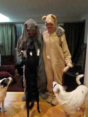 Leo and Marnie as Wilfred and Bear_06