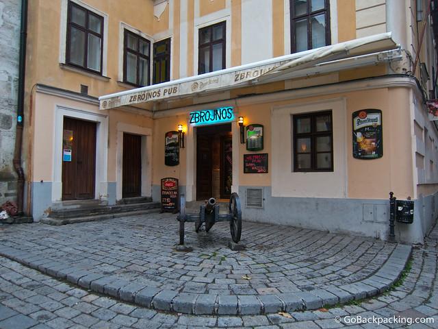 Pub in the city center