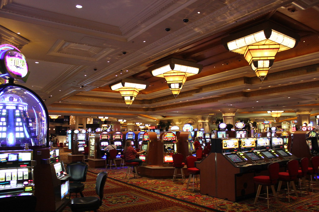 Mandalay Bay Casino Gaming Floor, Las Vegas