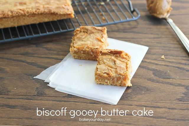 Biscoff Gooey Butter Cake recipe