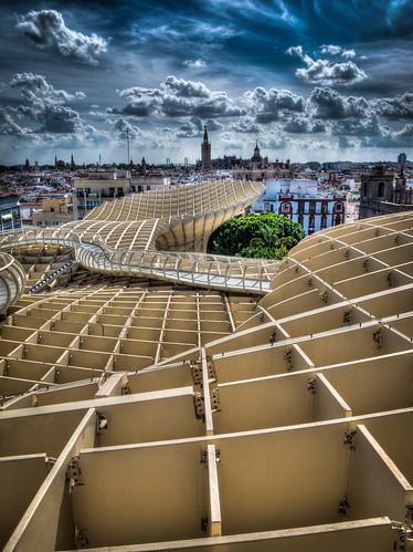 Modern art at Sevilla