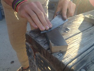 Knife Sharpening with Kyle #2