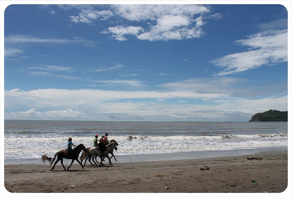 samara beach horseback riders