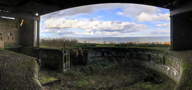 Inchkeith Gun Emplacement