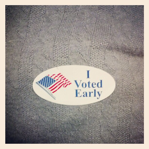 I Voted Early Sticker by Jincks