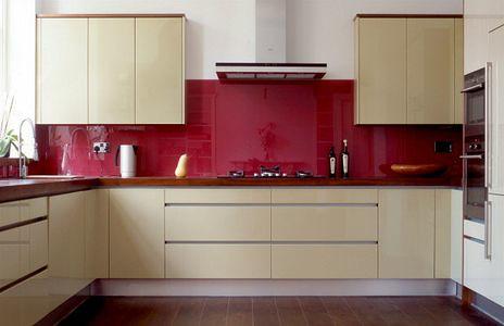 5 tendencias modernas en dise o de cocinas arkigrafico - Salpicadero cocina ikea ...