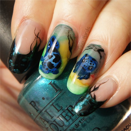Frog nail art contest