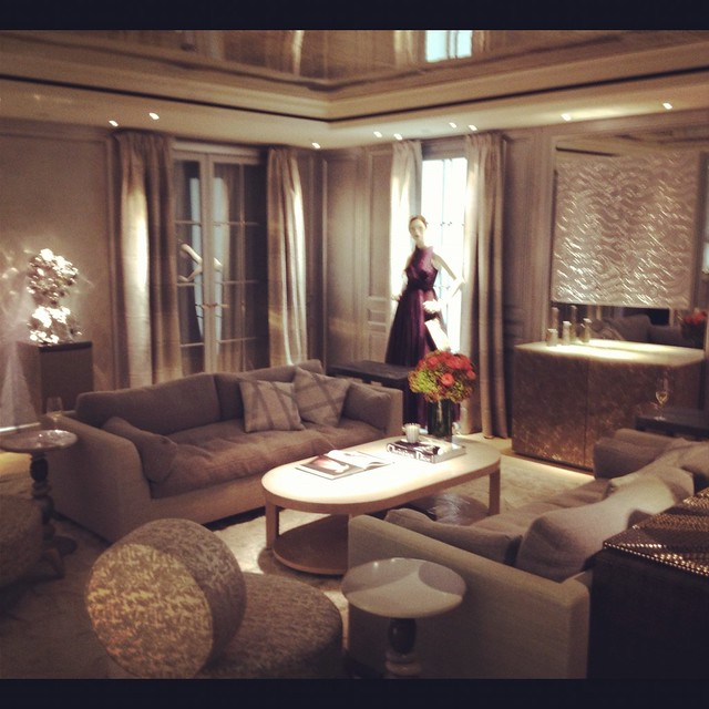 Dior boutique Vip room