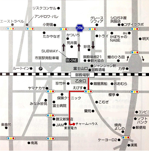 Gotemba-map_charm_house