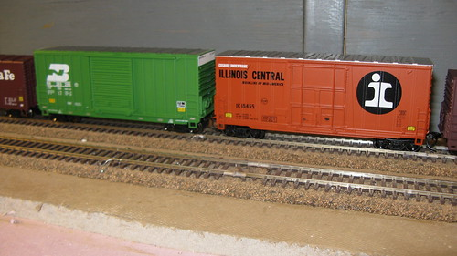 Athearn H.O Scale models of 40 foot Hi Cube box cars. by Eddie from Chicago