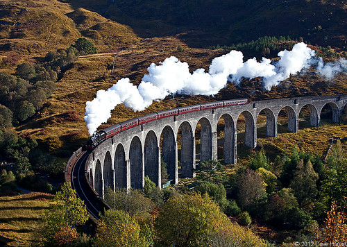 Jacobite on Glenfinnan Viaduct