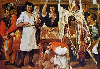 Carracci-la bottega del macellaio (1)