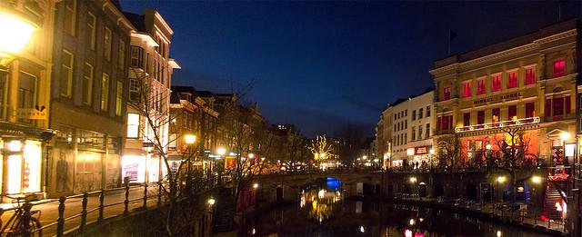 Stadhuisbrug, Oudegracht.