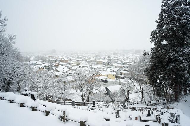 飯盛山からの景色