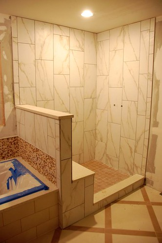 Subway tile vertical pattern
