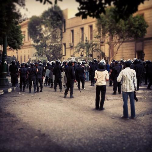 Riot police, nov. 2012
