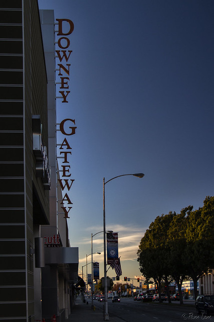 Downey Gateway sign