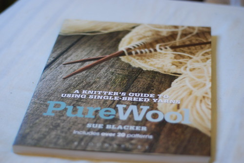 Sue Blacker Natural Fibre Co Pure Wool book cover
