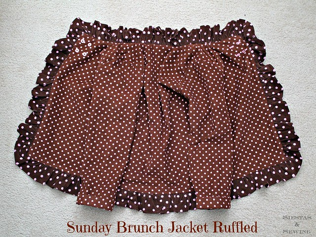 Sunday Brunch Jacket, Ruffled