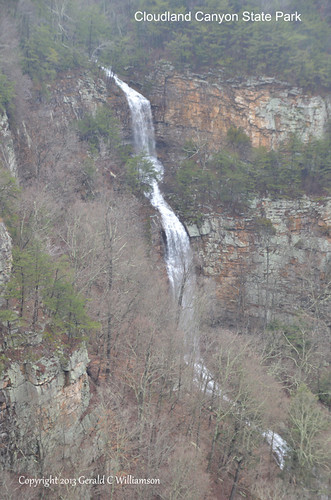 Waterfalls at Cloudland Canyon State Park by USWildflowers, on Flickr