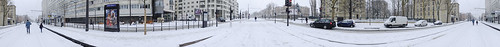 Pano with snow