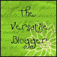 Versatile Blogger Award Graphic