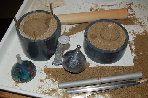 how to make a sand casting flask