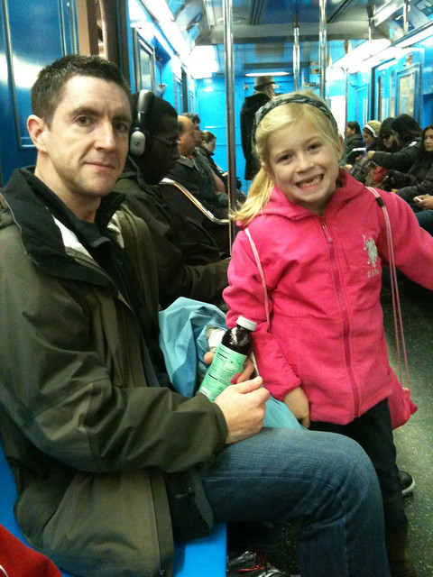 Kids' first visit to NYC, 12.02.2012
