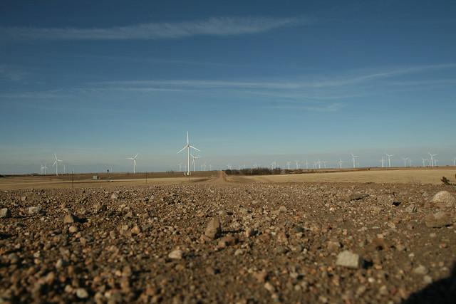 Windmills in Kansas
