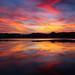 Salt pan sunset by snowyturner