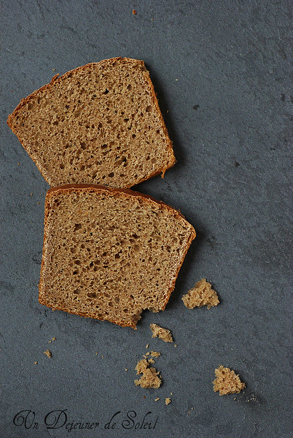 Pain de mie complet - Wholemeal bread
