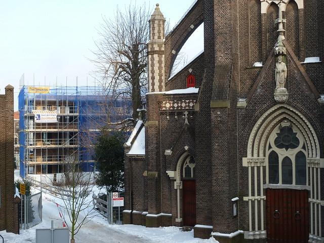 Nieuwe park rozenburgschool foto update nieuwbouw for Honingerdijk rotterdam