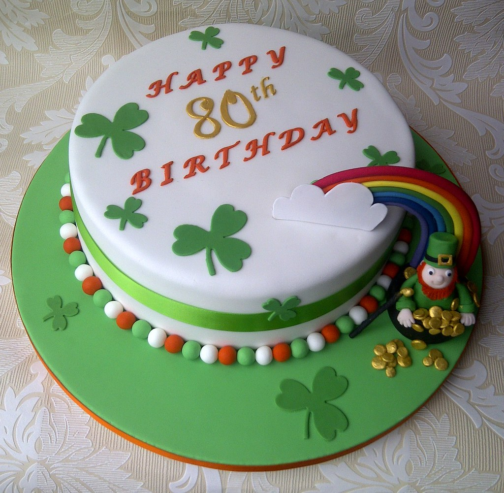 Irish Birthday Cake Ideas