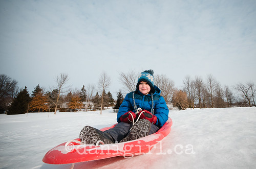 Shiverfest sledding fun