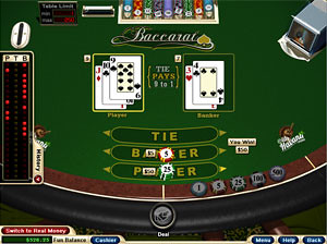 No Download Baccarat