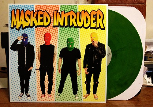 Masked Intruder - S/T LP - Green Vinyl by Tim PopKid