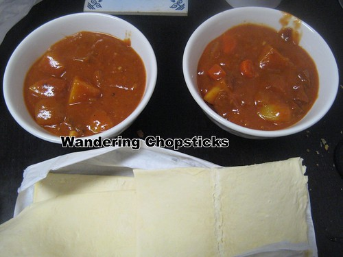 how to make pastry for stew