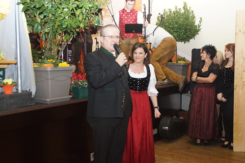 Bgm. Herbert Gaggl am Poggersdorfer Bauernball (12.01.2013)