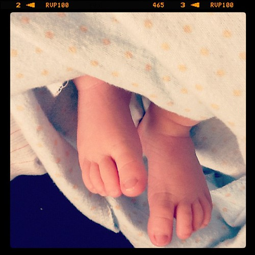 Finally Feet!