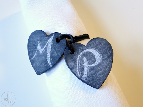 Wood Heart Napkin Ring (1)