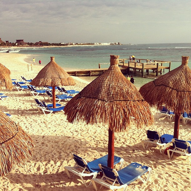 Good morning from the Mayan Riviera in #Mexico