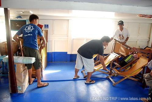 Folding Chairs at Kalayaan 9 - Banton Island, Romblon, Philippines