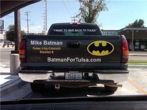 Batman for City Council
